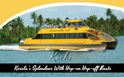 Kerala's Splendour With Hop-on Hop-off Boats
