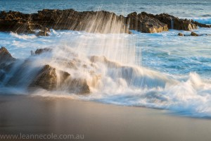 sorrento-beach-waves-slow-sunset-463