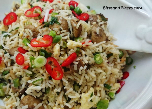 Exotic Mushroom Fried Rice