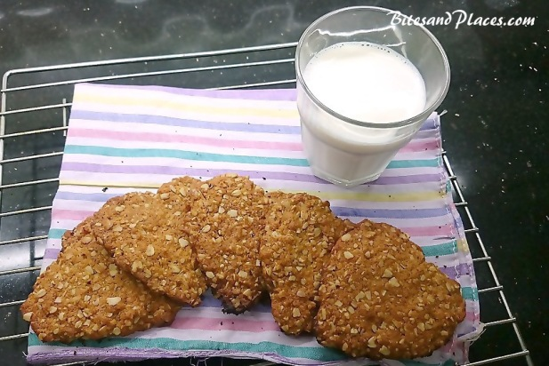 Honey and Oats Biscuits