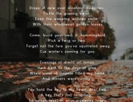 Poem Autumn