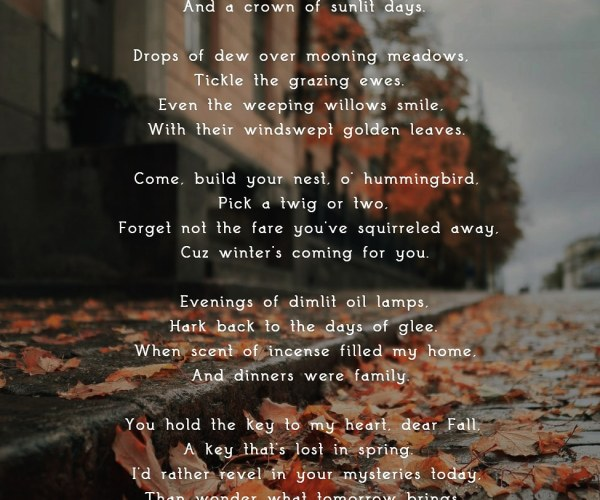 Poem Autumn